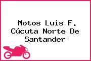 Motos Luis F. Cúcuta Norte De Santander