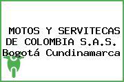 MOTOS Y SERVITECAS DE COLOMBIA S.A.S. Bogotá Cundinamarca