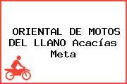 ORIENTAL DE MOTOS DEL LLANO Acacías Meta