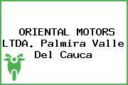 ORIENTAL MOTORS LTDA. Palmira Valle Del Cauca