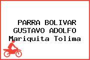 PARRA BOLIVAR GUSTAVO ADOLFO Mariquita Tolima
