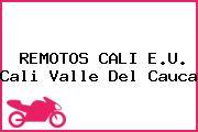 REMOTOS CALI E.U. Cali Valle Del Cauca