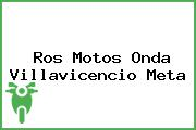 Ros Motos Onda Villavicencio Meta