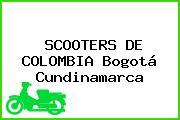 SCOOTERS DE COLOMBIA Bogotá Cundinamarca