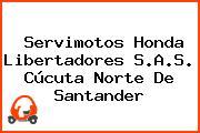 Servimotos Honda Libertadores S.A.S. Cúcuta Norte De Santander