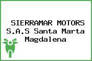 SIERRAMAR MOTORS S.A.S Santa Marta Magdalena