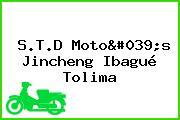 S.T.D Moto's Jincheng Ibagué Tolima