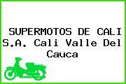 SUPERMOTOS DE CALI S.A. Cali Valle Del Cauca