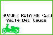 SUZUKI RUTA 66 Cali Valle Del Cauca