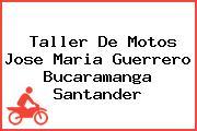 Taller De Motos Jose Maria Guerrero Bucaramanga Santander