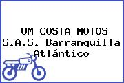 UM COSTA MOTOS S.A.S. Barranquilla Atlántico