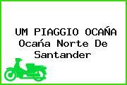 UM PIAGGIO OCAÑA Ocaña Norte De Santander