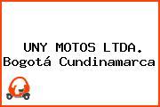 UNY MOTOS LTDA. Bogotá Cundinamarca