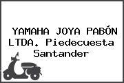 YAMAHA JOYA PABÓN LTDA. Piedecuesta Santander