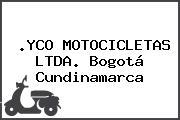 .YCO MOTOCICLETAS LTDA. Bogotá Cundinamarca