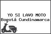 YO SI LAVO MOTO Bogotá Cundinamarca