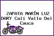 ZAPATA MARÍN LUZ DARY Cali Valle Del Cauca