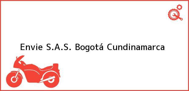Teléfono, Dirección y otros datos de contacto para Envie S.A.S., Bogotá, Cundinamarca, Colombia
