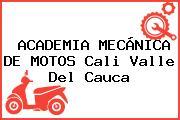 ACADEMIA MECÁNICA DE MOTOS Cali Valle Del Cauca