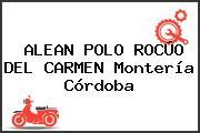 ALEAN POLO ROCÚO DEL CARMEN Montería Córdoba