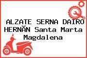 ALZATE SERNA DAIRO HERNÃN Santa Marta Magdalena