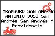 ARAMBURO SANTAMARÚA ANTONIO JOSÕ San Andrés San Andrés Y Providencia