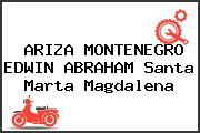 ARIZA MONTENEGRO EDWIN ABRAHAM Santa Marta Magdalena