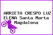 ARRIETA CRESPO LUZ ELENA Santa Marta Magdalena