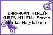 BARRAGÃN RINCµN YURIS MILENA Santa Marta Magdalena