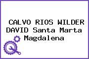 CALVO RIOS WILDER DAVID Santa Marta Magdalena