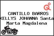 CANTILLO BARROS KELLYS JOHANNA Santa Marta Magdalena