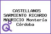 CASTELLANOS SARMIENTO RICARDO MAURICIO Montería Córdoba