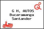 G H. AUTOS Bucaramanga Santander