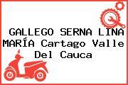 GALLEGO SERNA LINA MARÍA Cartago Valle Del Cauca