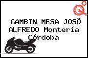GAMBIN MESA JOSÕ ALFREDO Montería Córdoba