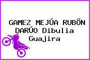 GAMEZ MEJÚA RUBÕN DARÚO Dibulia Guajira
