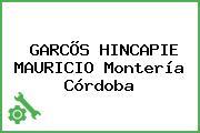 GARCÕS HINCAPIE MAURICIO Montería Córdoba