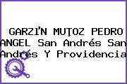 GARZµN MUÞOZ PEDRO ANGEL San Andrés San Andrés Y Providencia