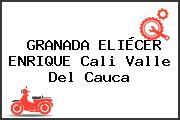 GRANADA ELIÉCER ENRIQUE Cali Valle Del Cauca