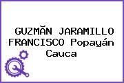 GUZMÃN JARAMILLO FRANCISCO Popayán Cauca
