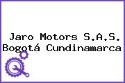 Jaro Motors S.A.S. Bogotá Cundinamarca