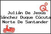 Julián De Jesús Sánchez Duque Cúcuta Norte De Santander