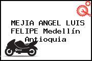 MEJIA ANGEL LUIS FELIPE Medellín Antioquia