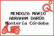 MENDOZA MARIO ABRAHAM DARÚO Montería Córdoba
