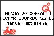MONSALVO CORRALES RICHAR EDUARDO Santa Marta Magdalena