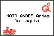 MOTO ANDES Andes Antioquia