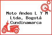 Moto Andes L Y M Ltda. Bogotá Cundinamarca