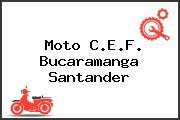 Moto C.E.F. Bucaramanga Santander