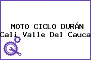 MOTO CICLO DURÁN Cali Valle Del Cauca