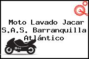 Moto Lavado Jacar S.A.S. Barranquilla Atlántico